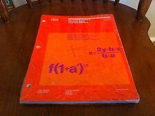 Vintage IBM Computer Book VS Fortran Version 2 Interactive Debug Reference Guide