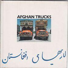 Blanc, Afghan trucks Mathews Miller Dunbar Londra, 1976, illustrato, fotografie