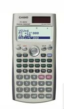 Casio FC-200V Financial Calculator Dot Matrix Display