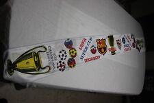 BUFANDA SUPERCOPA EUROPA 2006 F-C BARCELONA Y SEVILLA F.C. VINTAGE  SCARF