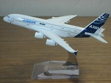 New AIRBUS A380 Passenger Airplane Plane Aircraft Metal Diecast Model Collection