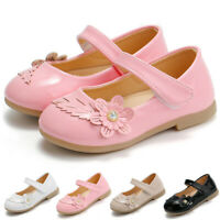 NEW Casual Toddler Infant Kids Baby Girls Sandals Girls' Princess Flower Shoes