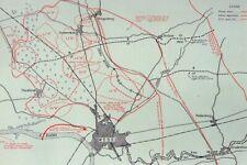 More details for historic hardback war map operation varsity us airborne corps  cross rhine wesel