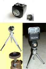 New Slave Ball Head Steel Mini Tripod Flash Kit