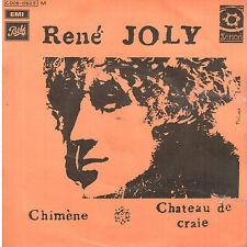45T: René Joly: chimène. xenon-pathé paroles: G.Manset