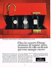 PUBLICITE  1967   OMEGA  montres