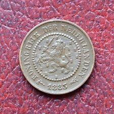 Netherlands 1883 bronze half cent