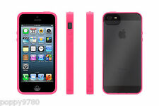 Cover e custodie rosa Per iPhone 5s in silicone/gel/gomma per cellulari e palmari