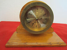 "Maritime,"" Quartz"", Brass Ship'S Mantle Clock"