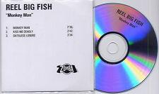 REEL BIG FISH Monkey Man 2003 UK 3-track promo test CD