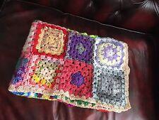Beautiful Handmade Vintage Look Unique Crochet Baby Cot Blanket