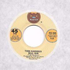 TODD RUNDGREN * 45 * Real Man * 1975 #83 * UNPLAYED MINT * BEARSVILLE 0304 Vinyl