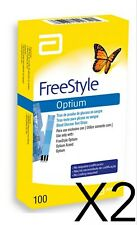 200 Tiras reactivas Freestyle Optium