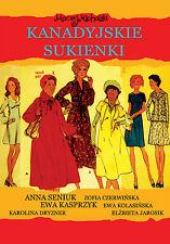 Kanadyjskie sukienki (DVD) 2012 Maciej Michalski POLSKI POLISH