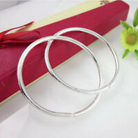 Armreif 925er Silber Glatte Armband