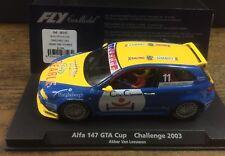 slot fly 88143 Alfa Romeo 147 GTA Cup Van Leewen Challenge 2003