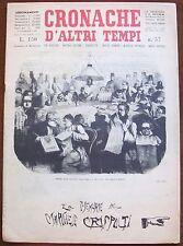 CRONACHE D'ALTRI TEMPI - N.57, 1959 - Le memorie del Marchese Crispolti* >>>