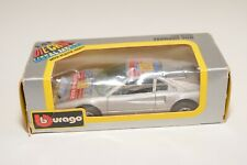 V 1:43 BBURAGO BURAGO 4030 FERRARI 308 GREY RALLY MINT BOXED RARE BOX!!!
