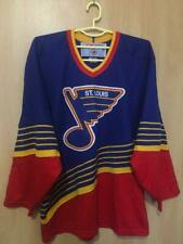NHL ST LOUIS BLUES USA ICE HOCKEY SHIRT JERSEY MAGLIA VINTAGE CCM