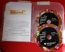 Microsoft Windows 7 Ultimate 32 / 64 Bit Retail Upgrade Genuine