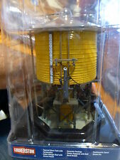 Walthers HO #933-2813 Wood Water Tank - Built-ups -- Assembled - Yellow Ochre -