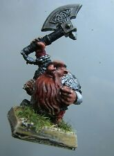 1x bugman champion dwarf citadel gw slotta bugmans brewer's ranger with axe #A