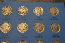1913! 1914! 1924D 1931S BUFFALO NICKEL COLLECTION 1913-38! COMPLETE FROM 1927-38