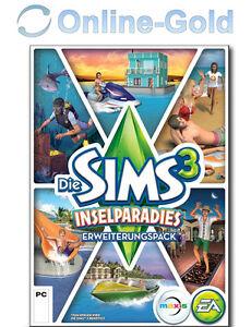 Die Sims 3 Inselparadies Add-on DLC Key - EA Origin Island Paradise - PC [EU/DE]