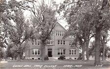 Tabor Iowa~Gaston Hall at Tabor Christian College~Closed 1927~1930s RPPC