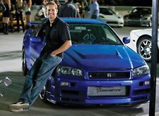 PHOTO FAST AND FURIOUS 4-PAUL WALKER  (P1) FORMAT 20X27 CM
