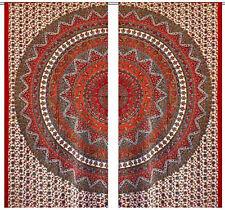 Hippie Decor Mandala Curtains Bohemian window Valances Door Tapestry Curtains