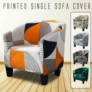 Elastic Stretch Tub Chair Cover Armchair Sofa Chair Cover Slipcover Jacquard
