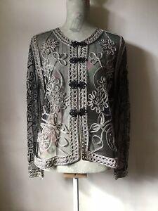 Beautiful Vintage Evening Jacket Size S-M