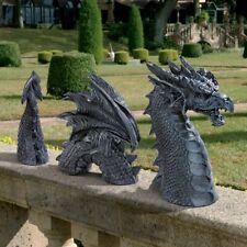 Dragon Lawn Statue Figurine Outdoor Sculpture Garden Yard Decor Art Ornament