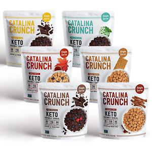 Catalina Crunch Keto Cereal Single Serve Pouches (1.27Oz/Pouch) 6 Flavors Variet