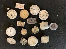 16 Vintage Quality Wrist Watch Mechanical Movements