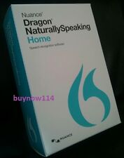 NUANCE Dragon NaturallySpeaking 13 Home - Speech Recognition Software & Mic