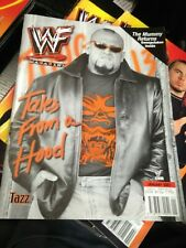 WWF WWE Magazine JANUARY 2001 TAZZ