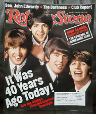 The Beatles Rolling Stone Magazine It Was 40 Yrs Ago Today Issue #942 Feb 9,2004