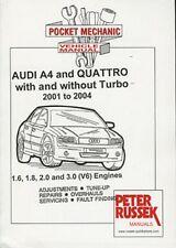 Audi A4 & Quattro 1.6/1.8/2.0/3.0 (V6), '01-'04 Russek