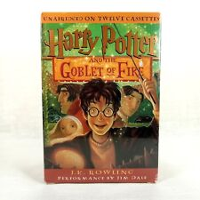 Harry Potter Goblet of Fire Unabridged 12 Audio Cassettes Box Set NEW Sealed