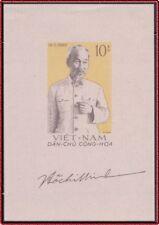 VIETNAM du Nord Bloc Mi 2(*) Bf Ho Chi Minh 1960 North Vietnam 129 Sheet NGAI MH