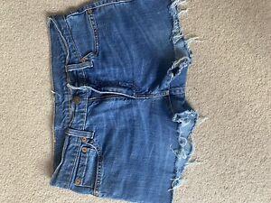 levis cut off shorts
