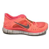 Nike Free Run 3 Running Shoes Womens Size 8.5 8 1/2 510643-600 Coral Pink Sneake