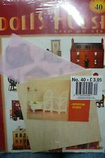 DOLL'S HOUSE STEP BY STEP Part 40 make your own dolls house magazine for hobbies