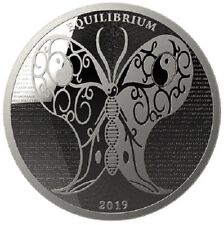 TOKELAU 5 Dollars Argent 1 Once Equilibrium 2019