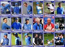 2010 RYDER CUP Golf TRADING CARDS-Europea SQUADRA CELTIC MANOR