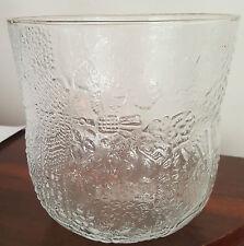 Large Arabia Fauna Glass Bowl / Vase /  Ice Bucket  - Oiva Toikka Finland