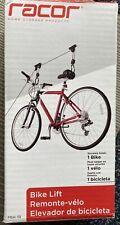 Bike Lift Racor Garage Ceiling Mount Storage Organizer Cycling Rack NIB NEW