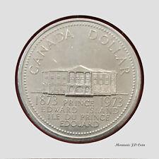 1973 Canada1$ Dollar Prince Edward Island Nickel Coin Circulated (DC73)